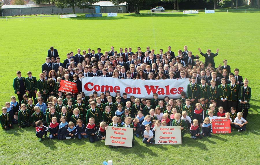 2509 LLANDOVERY COLLEGE SUPPORT WALES