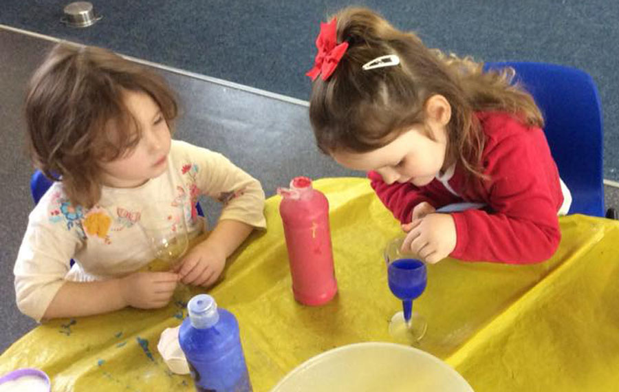 Fun Experiments at Llandovery College Nursery